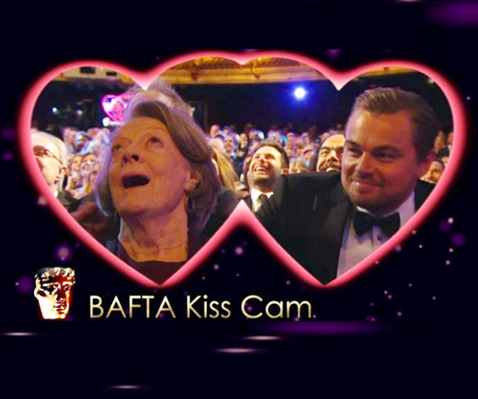 Dame Maggie Smith describes kissing Leonardo DiCaprio: 'It was a real thrill'
