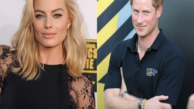 Margot Robbie: I didn't know it was Prince Harry