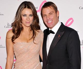 Shane Warne: I'm going to ask Liz Hurley to return her engagement ring