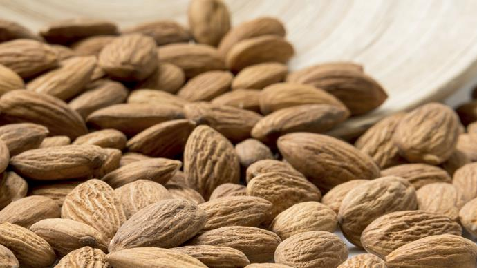 Eating just a handful of almonds could give your health a boost