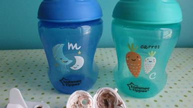 The sippy cups making your children sick