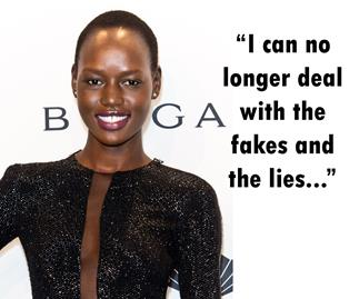 Did supermodel Ajak Deng just quit because the industry is too racist?