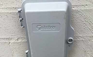 Can you see what's wrong with this Telstra installation?