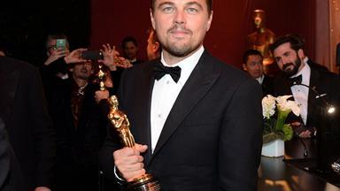 How Leo celebrated his Oscar win