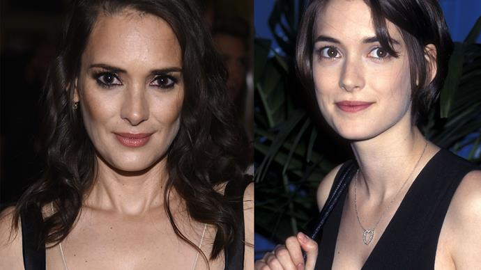 Winona Ryder hasn't aged in 20 years
