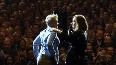 Adele helps woman propose to boyfriend