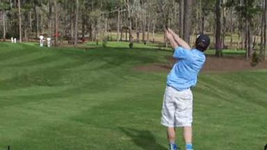 Video: How this kid left Tiger Woods speechless