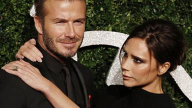 David Beckham's tribute to wife Victoria
