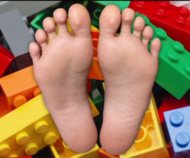 Why stepping on Lego is so painful