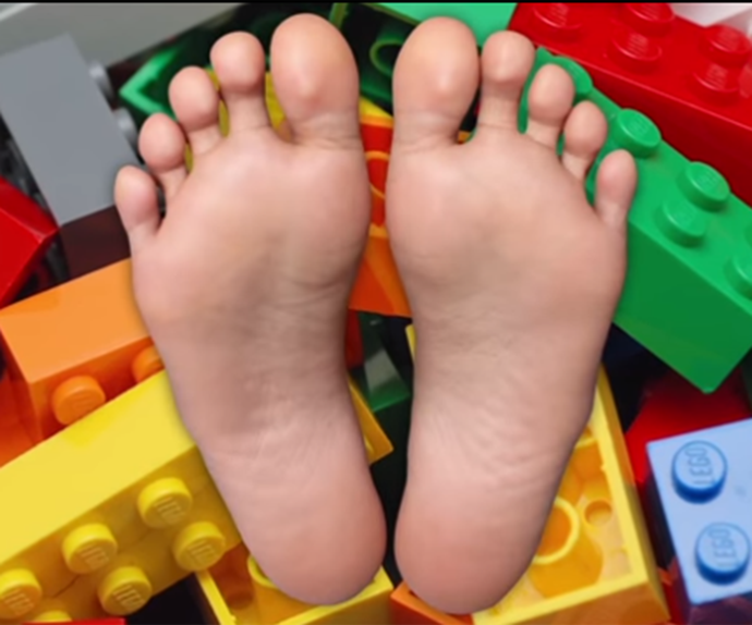 Lego and feet