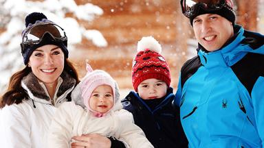William and Kate's secret family ski holiday