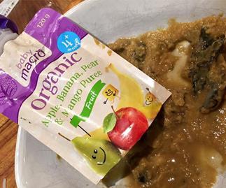 Mum horrified by contaminated baby food
