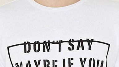 Forever 21 selling offensive 'rape' T-shirt