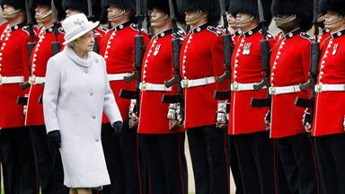 Queen's guard in rape scandal