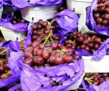 Shocking find in supermarket grape