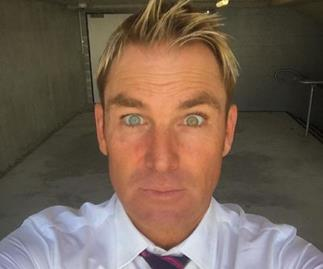 How Warnie looks so youthful