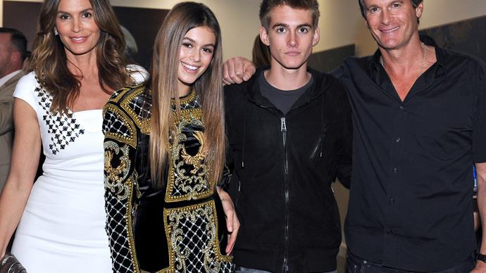 Cindy Crawford's kids debut edgy new looks