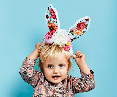 Make your own easy Easter bunny ears!
