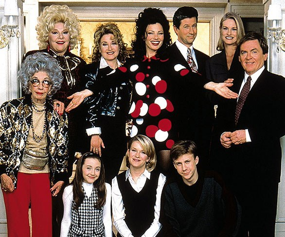 The cast of The Nanny had a mini reunion over the weekend