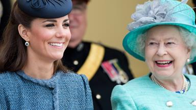 Kate's touching words for Queen Elizabeth