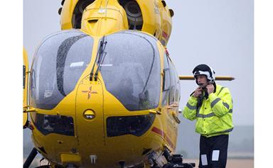 Prince William to the rescue!