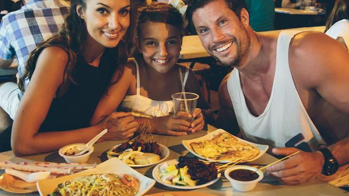 On holidays with Sam and Snezana in Singapore