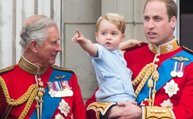 Prince Charles shares passion for gardening with Prince George