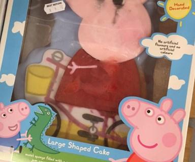 See this hilarious Peppa Pig cake fail