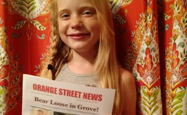 Should a nine-year-old be reporting on murder?