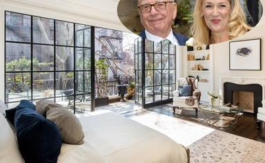 Inside Rupert Murdoch and Jerry Hall's $42 million NYC apartment