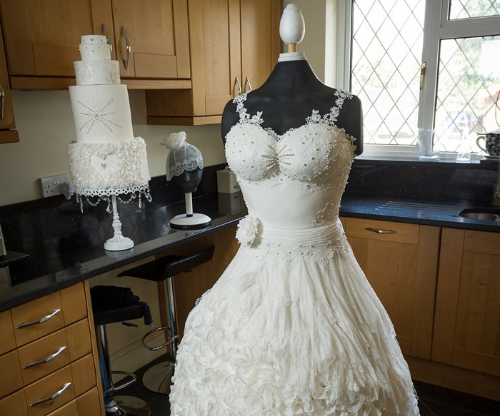 The wedding dress no one will ever be able to wear
