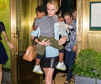 Charlize Theron opens up about her life as a single mum
