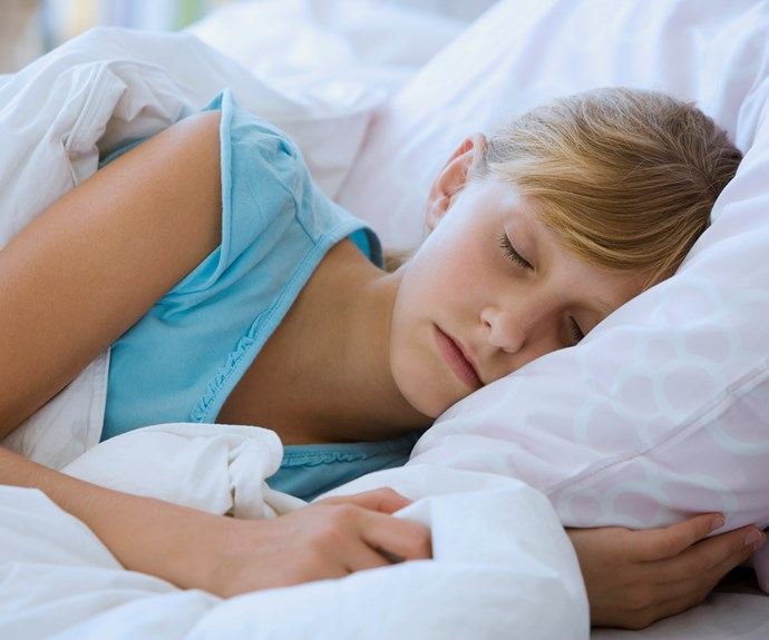 Consistent bedtime for kids yields higher grades