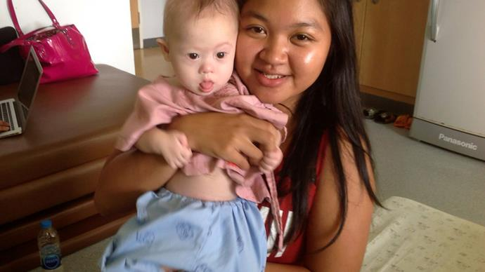 Gammy's twin to stay with WA parents