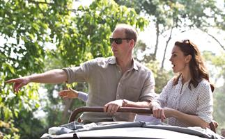 Kate and Wills shocked at rhino killing