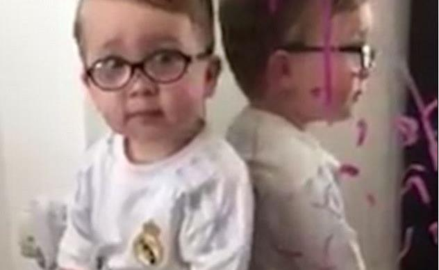 Batman did it! Little boy blames superhero for bad behaviour