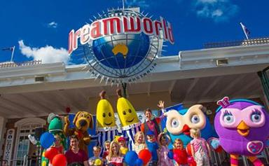 Man almost drowns at Dreamworld after falling off ride