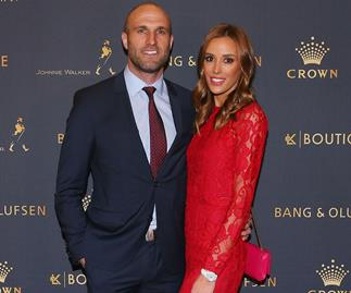 Rebecca and Chris Judd expecting twins