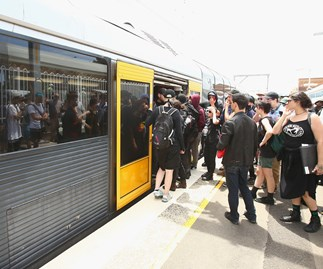 Navy officer bashed on train after Anzac service