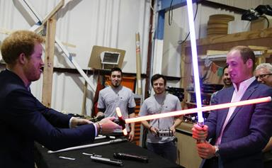 William and Harry to star in new Star Wars