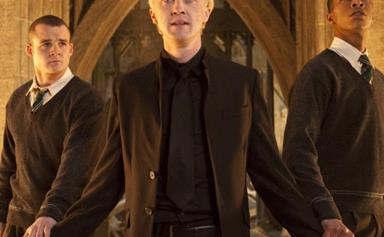 This Harry Potter star is now a cage fighter