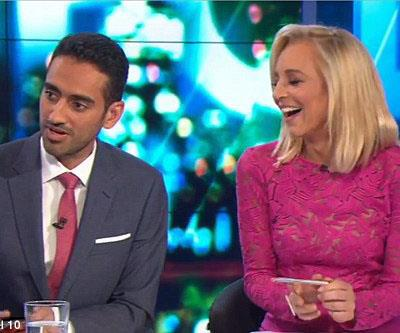 The Project Dame Edna Waleed Aly awkward