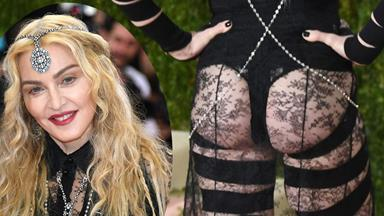 Madonna defends risqué Met Gala outfit