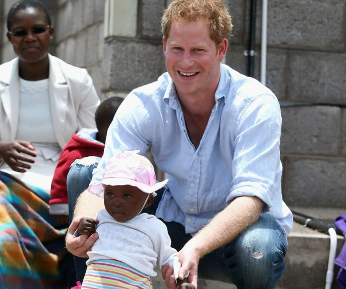 Prince Harry Opens Up About His Plans For Children