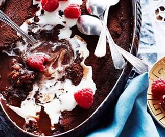 Sweet and sticky warm desserts