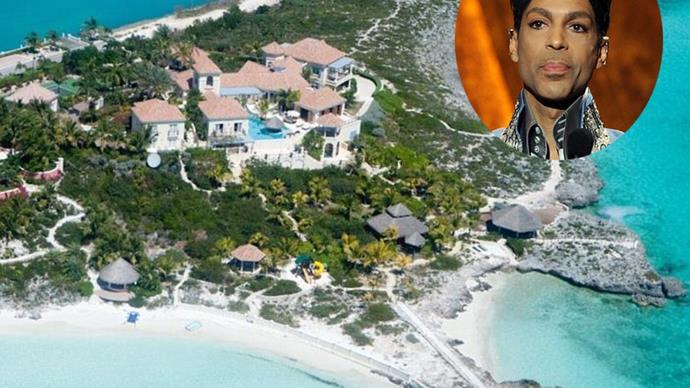 Inside Prince's luxury Caribbean villa
