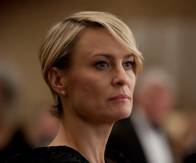 Robin Wright to House of Cards: 'Equal pay or I walk'