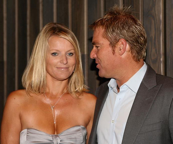 Simone and Warnie called it quits in 2005.