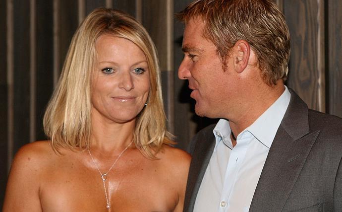 Shane Warne's ex-wife 'speechless' over Brynne fling