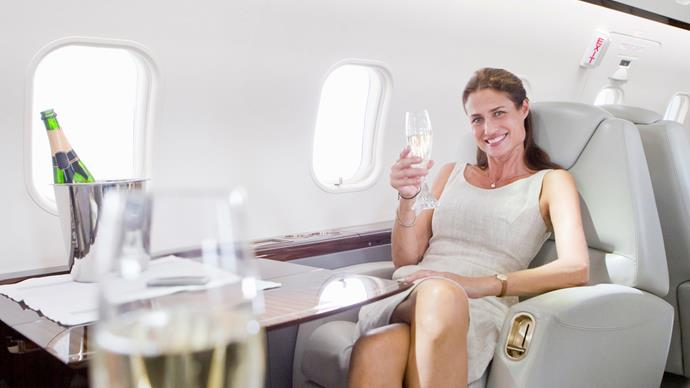 How to get a seat upgrade on a flight